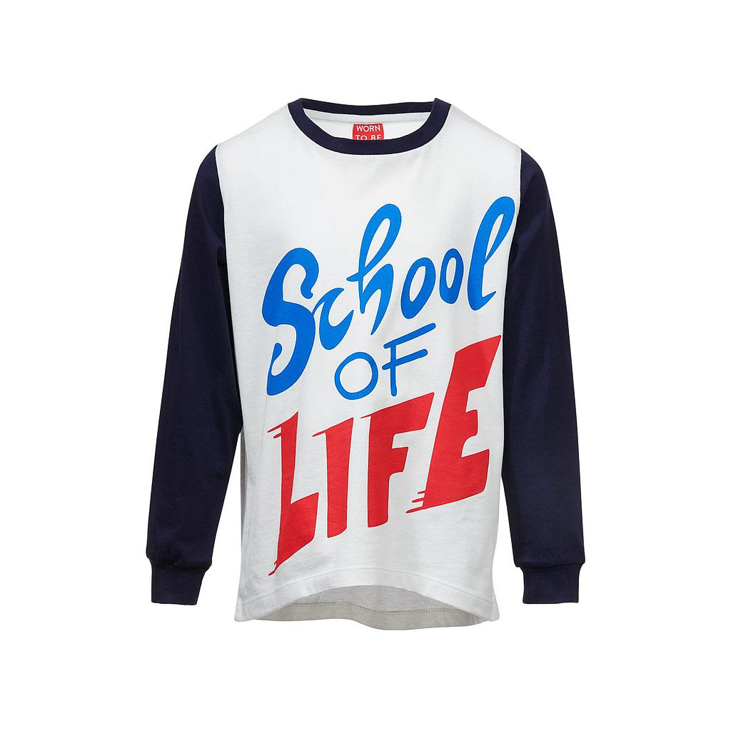 SCHOOL OF LIFE Langarm-Shirt