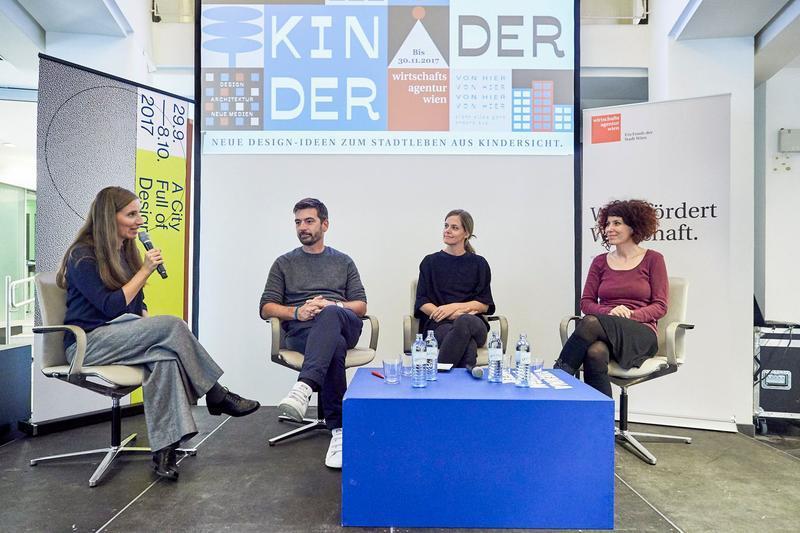 Ideenwettbewerb Kinder Kinder Kickoff Veranstaltung mit Christian Bezdeka im Panel