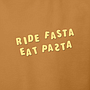 RIDE FASTA EAT PASTA T-Shirt_02_logo